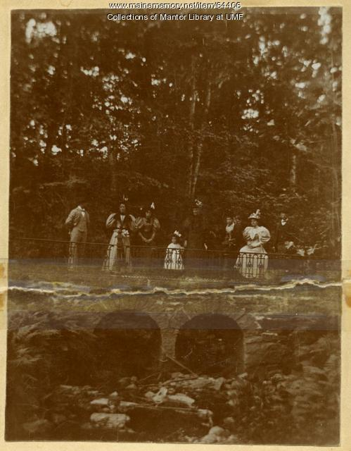 Little Blue Bridge, Farmington, 1896
