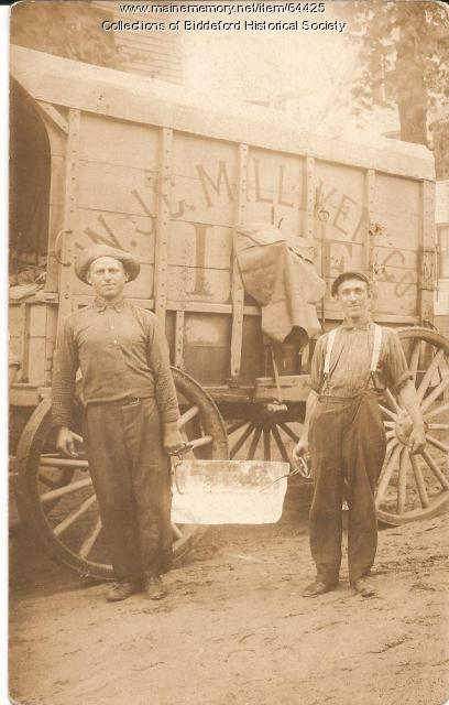 Milliken Ice Company, Biddeford, ca. 1900