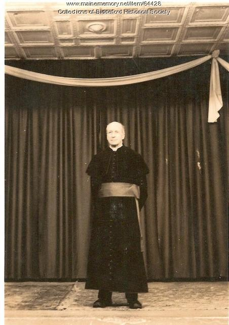 Reverend Arthur Decary Biddeford Ca 1930 Maine Memory Network
