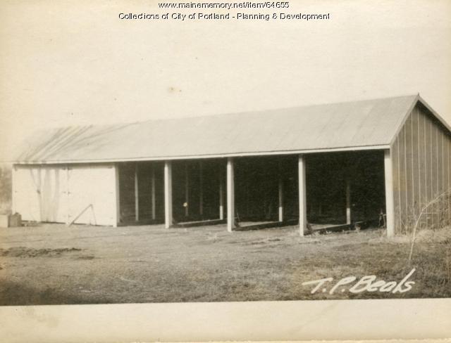 Garage, Morrill Street, Portland, 1924