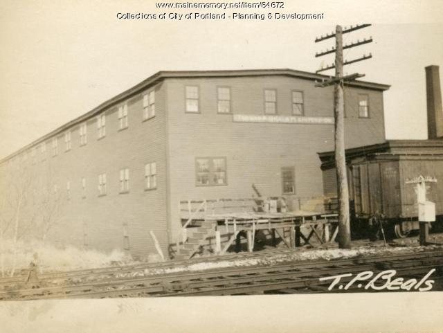 Storage, Morrill Street, Portland, 1924