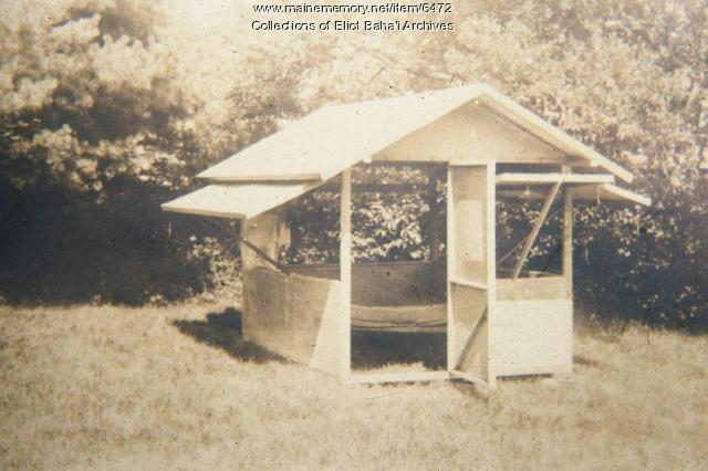 Fresh air cottage, Eliot, c. 1900