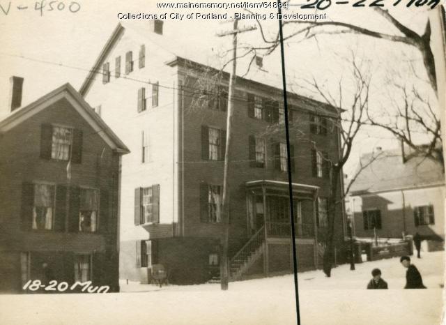 20-22 Munjoy Street, Portland, 1924
