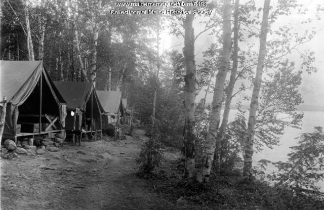 Camping, Rockwood, ca. 1940
