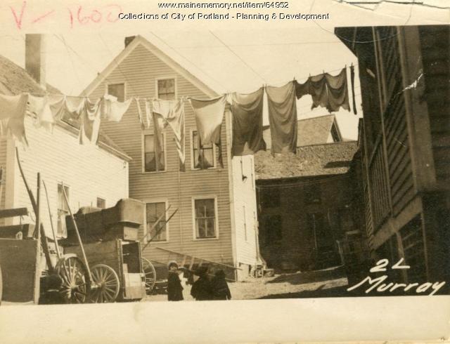 2 Murray Lane, Portland, 1924