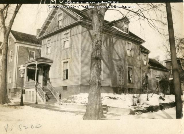 9-11 Munjoy Street, Portland, 1924