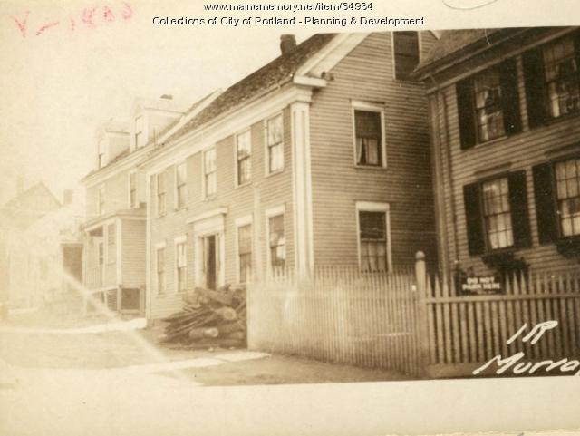 Dwelling, Murray Lane, Portland, 1924