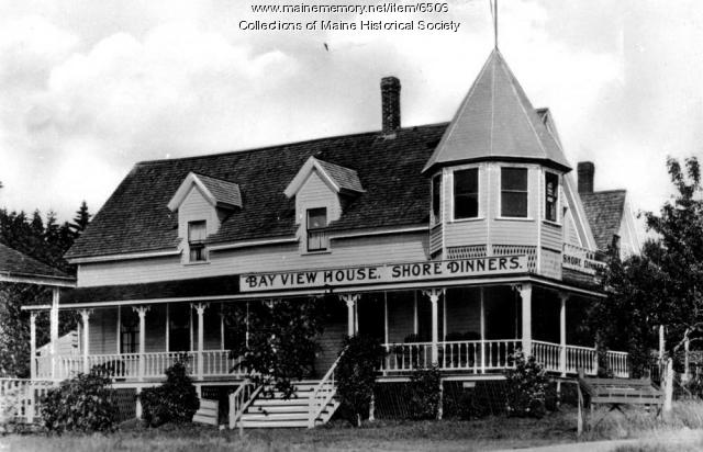 Bay View House, Orr's Island