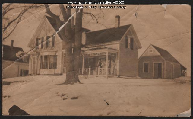 Emma Coulters' house, Surry, ca. 1890