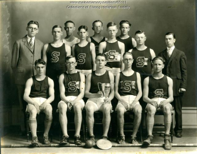 County Interscholastic Track Champions, Strong, 1926