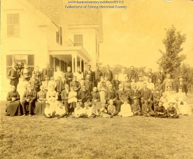 Brackley Family Reunion, Strong, 1892