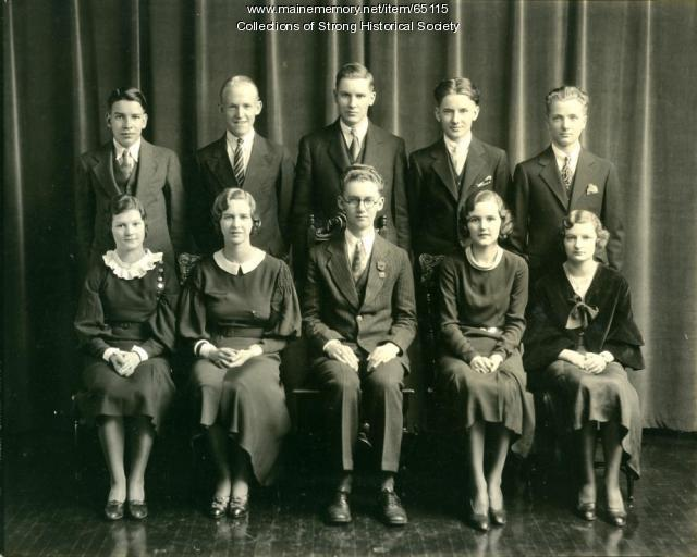 Strong High School Class of 1933