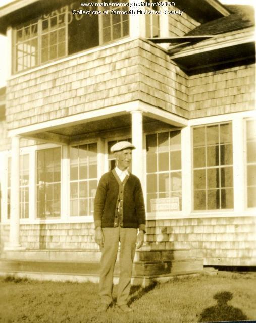 Mike Duran, Cousins Island, ca. 1924
