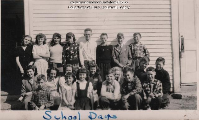 School Days, Surry, ca.1950