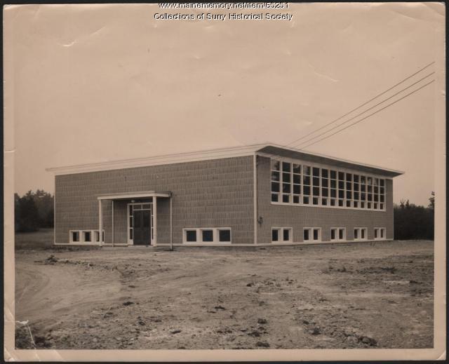 New Surry Grammar School, 1952