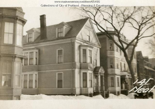 139-141 Neal Street, Portland, 1924