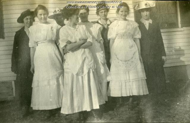 "Student ""Supper Bunch,"" Farmington State Normal School, ca. 1917"