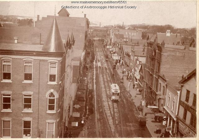 Lisbon Street Trolley, Lewiston