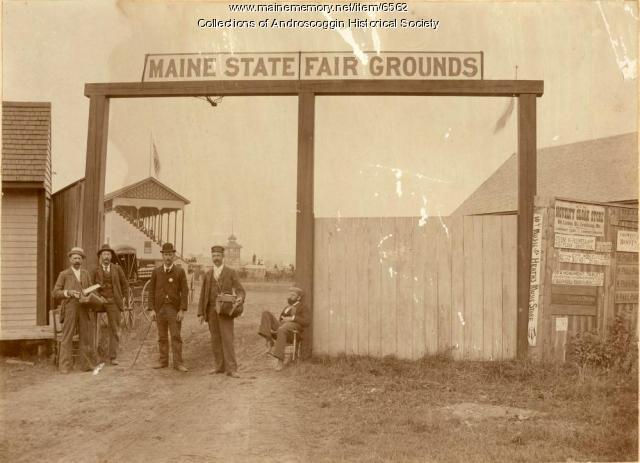 Maine State Fairgrounds, Lewiston, ca. 1898