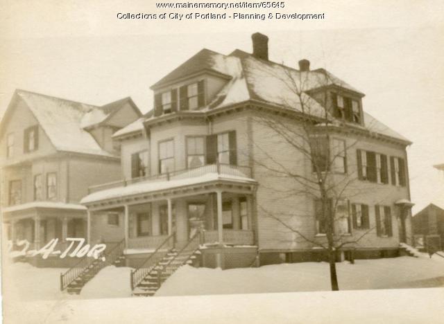 22 Norwood Street, Portland, 1924