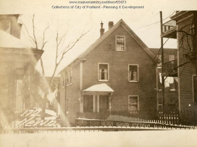 174 Newbury Street, Portland, 1924