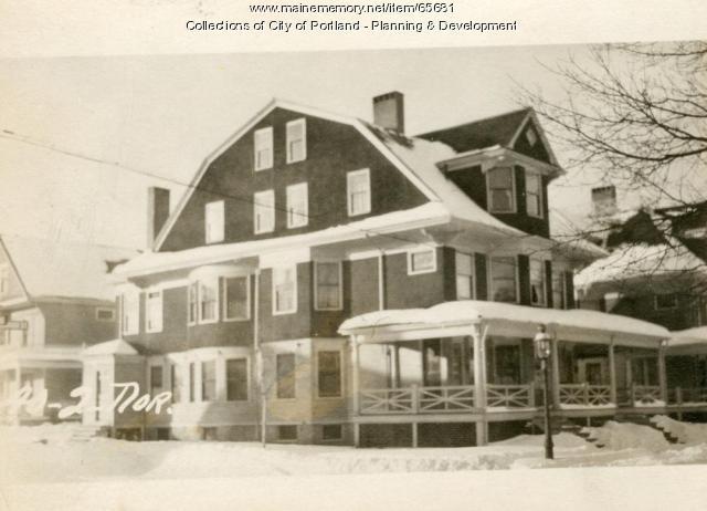 Winter Street, Portland, 1924