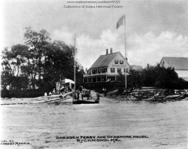 Dresden Ferry and Densmore House, Richmond, ca. 1920