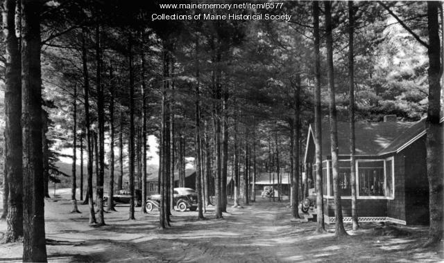 Kezar Lake, Lovell, ca. 1950