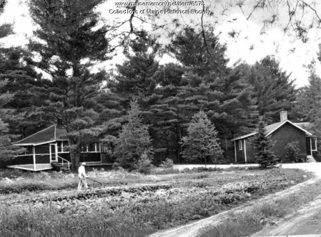 Garden, Lovell, ca. 1950