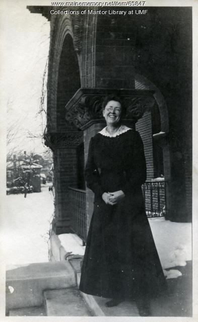Lillian Lincoln, Farmington State Normal School, ca. 1917