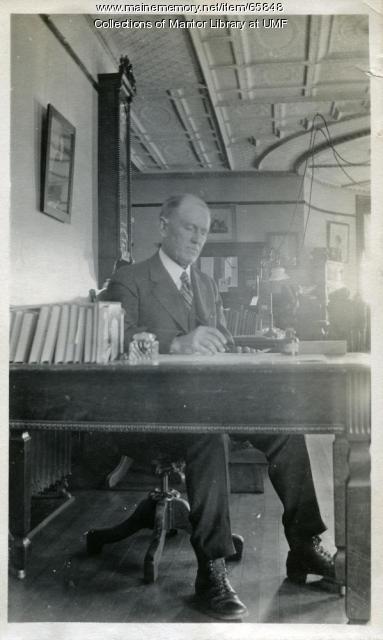Arthur Thomas, Farmington State Normal School, ca. 1917