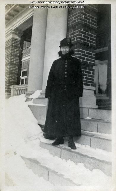 Virginia Porter, Farmington State Normal School, ca. 1917