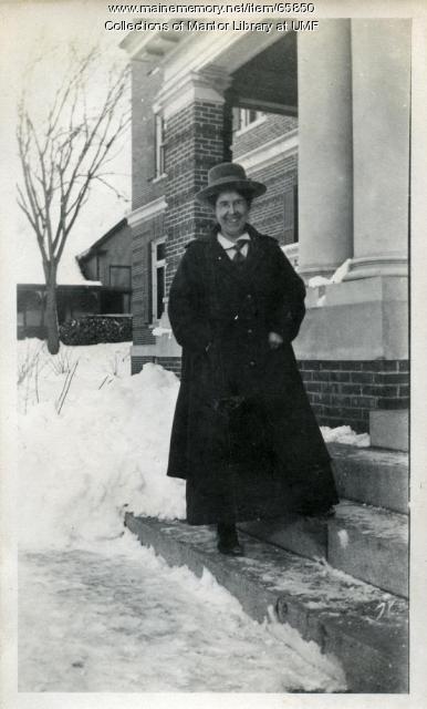 Marion Ricker, Farmington State Normal School, ca. 1917