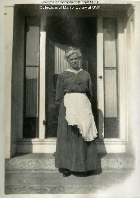 Carolyn Stone, Farmington State Normal School, ca. 1917