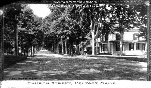 Church Street, Belfast, ca. 1920