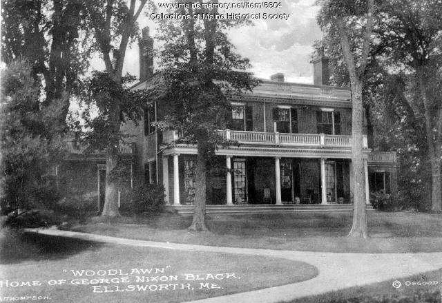 'Woodlawn' Home of George Nixon Black