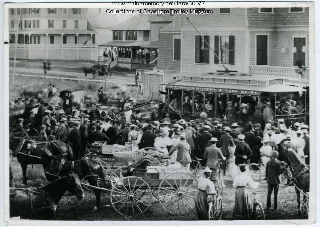 Street scene in York, ca. 1897