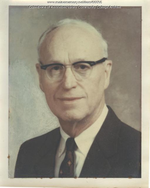 Carlton P. Fogg, ca. 1965