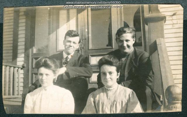 High School faculty, Lubec, ca. 1908
