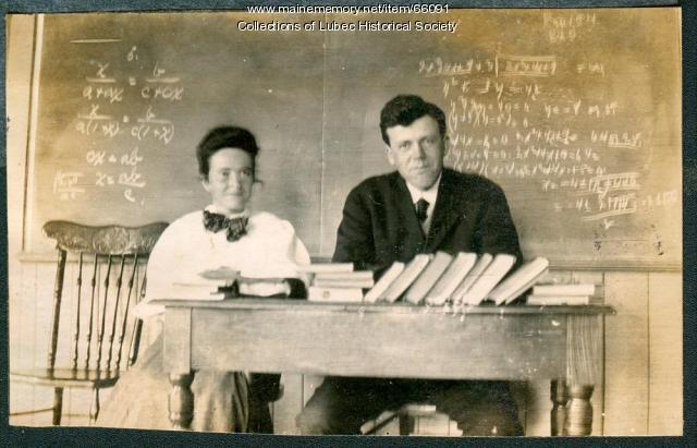 Roscoe C. Emery, Lubec, ca. 1908