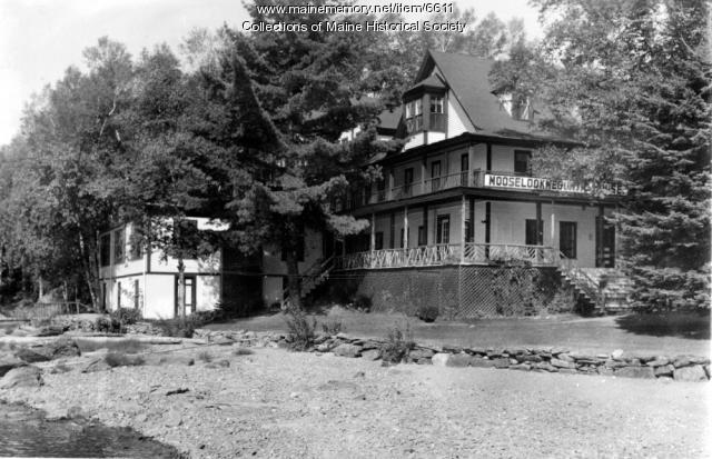 Mooselookmeguntic Lake House, ca. 1930