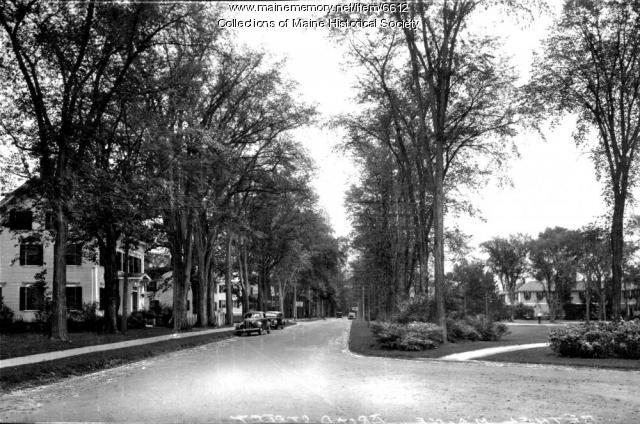 Broad Street, Bethel, ca. 1930