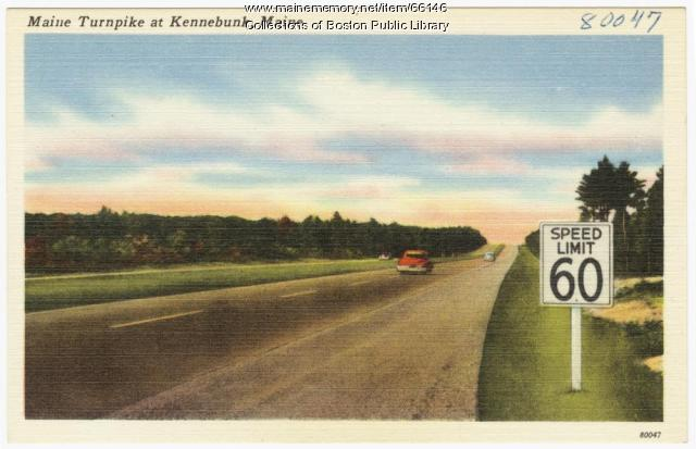 Maine Turnpike, Kennebunk, ca. 1950