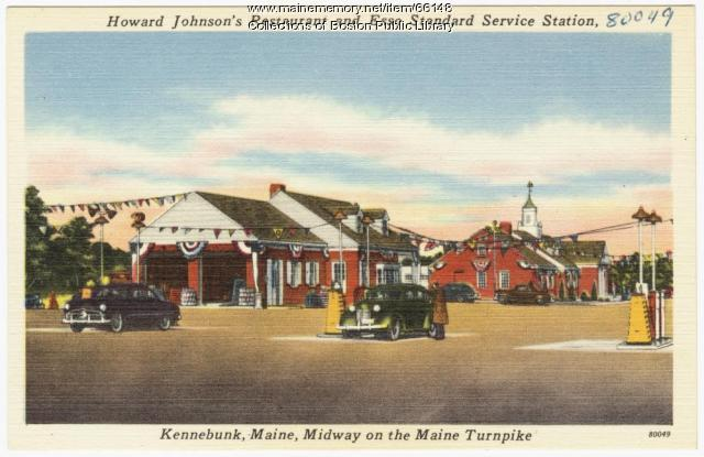 Turnpike service station, Kennebunk, ca. 1950