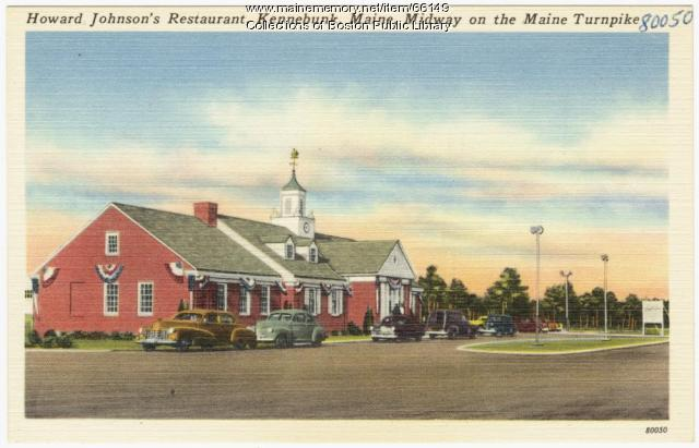 Howard Johnson's Restaurant, Kennebunk, ca. 1935
