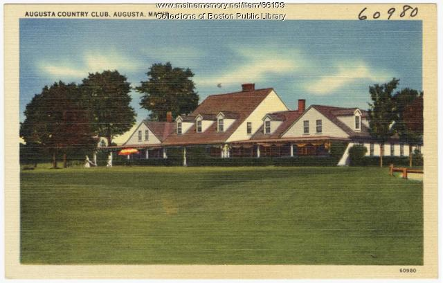 Augusta Country Club, ca. 1935
