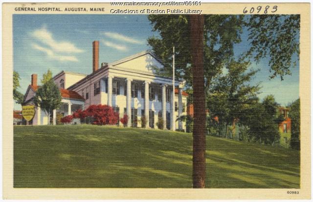 General Hospital, Augusta, ca. 1935