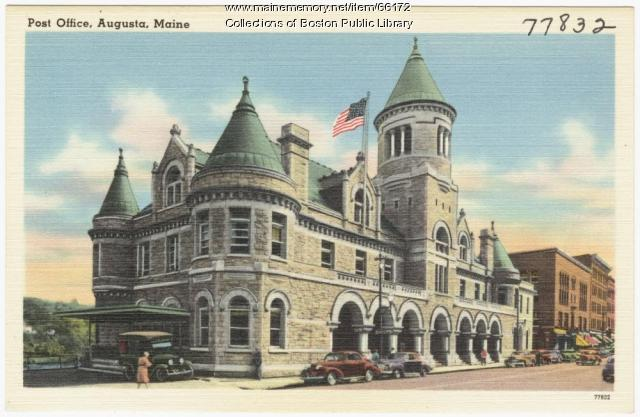 Post office, Augusta, ca. 1938