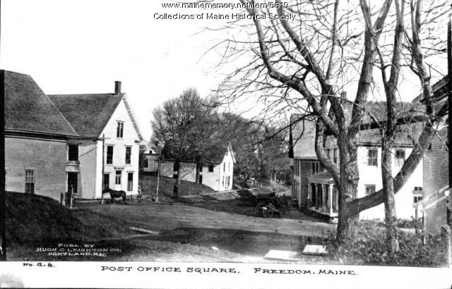 Post Office Square, Freedom, Maine
