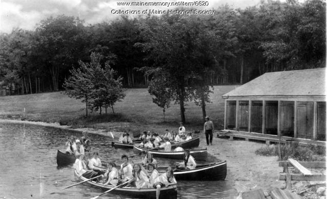 Campers, Naples, ca. 1940